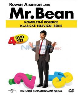 Mr. Bean kompletní kolekce 4DVD / Mr. Bean Remastered 1-4 / 1989-1991