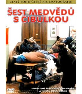Šest medvědů s Cibulkou DVD