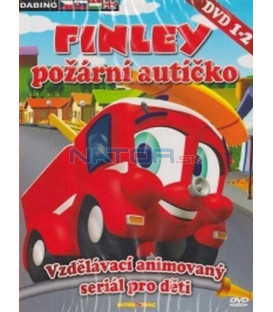FINLEY požární autíčko - DVD 1 - 2 (FINLEY, the Fire Engine) 2XDVD
