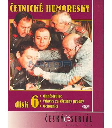 Četnické humoresky 6. DVD - díly 15 až 17