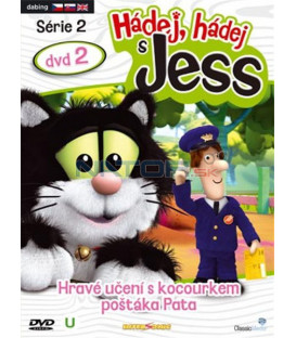 Hádej,hádej s Jess série2 dvd2 (Guess with Jess) DVD