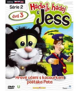 Hádej,hádej s Jess série2 dvd3 (Guess with Jess) DVD