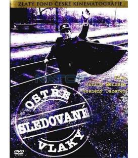 Ostře sledované vlaky DVD
