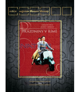 Prázdniny v Římě (Roman Holiday) DVD
