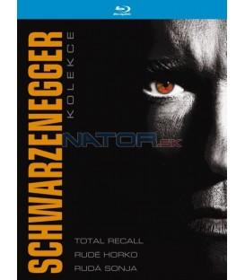 Kolekce: Arnold Schwarzenegger 3 x Blu-ray
