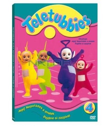 Teletubbies 4. - Jejej nepořádek a zmatek/Pojďme si zpívat (Teletubbies – Messes and Muddles)